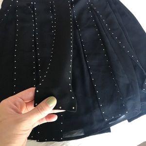 MICHAEL Michael Kors Skirts - MICHAEL Michael Kors Black fringe skirt